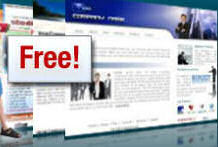 free web site design